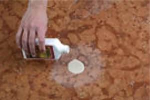 Marmor, Travertin und Kalkstein poliert Kratzer und Flecken aufpolieren Berlin, Potsdam, Brandenburg