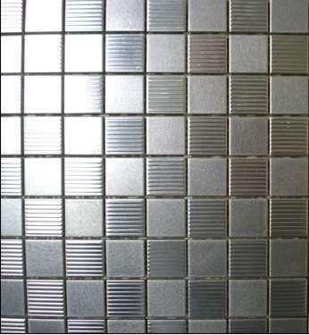 Edelstahl Mosaik, Metall Mosaik Metallmosaik Edelstahl Fliesen struktur, Potsdam, Brandenburg