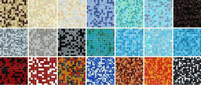Mosaik Mix, Mosaikmischungen, Keramik Glas Mosaik Fliesen ...