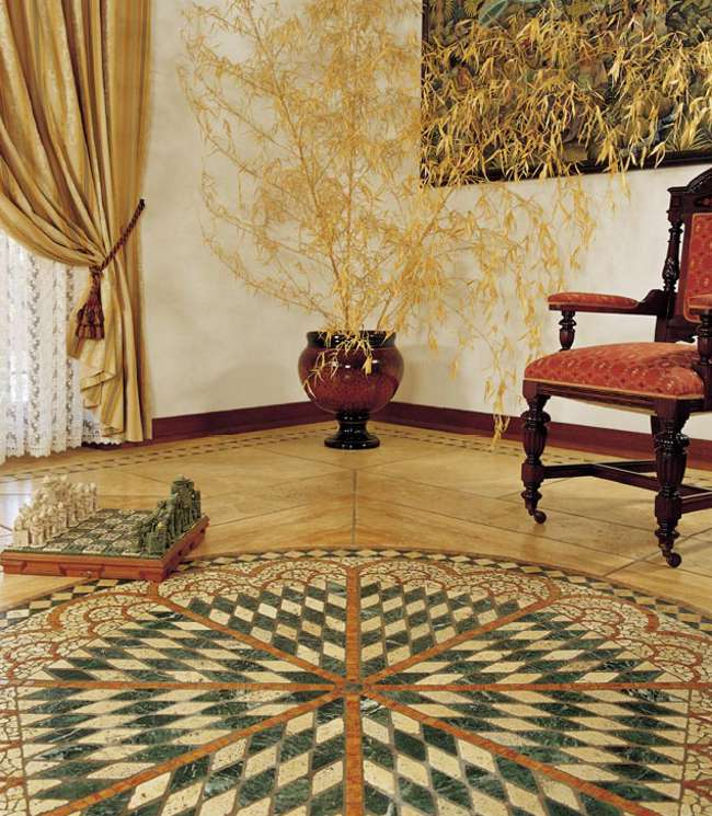 Fliesen Rosette, Rosonen, Rosone Fliesenrosette Antikmarmor Berlin, Potsdam, Brandenburg