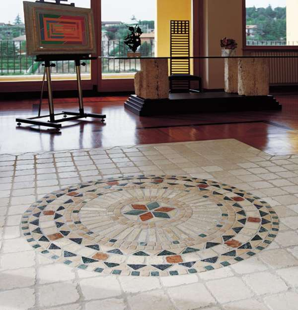 Fliesen Naturstein Rosette, Rosonen, Rosone Fliesenrosette Antikmarmor Berlin, Potsdam, Brandenburg