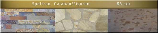 Naturstein Bilder, Katalog für Naturstein, Stein Schiefer, Quarzit,  Sandstein  Garten Figuren