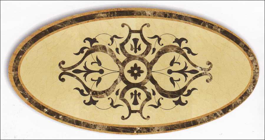 Naturstein Marmor Fliesen Naturstein Rosette, Rosonen, Rosone  kaufen Preis  Fliesenrosette Windrose Berlin, Potsdam, Brandenburg