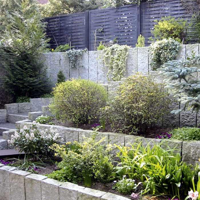 ... Brandenburg Palisaden, Stelen Stele Palisade Garten Granit Grau Berlin,  Potsdam, ...