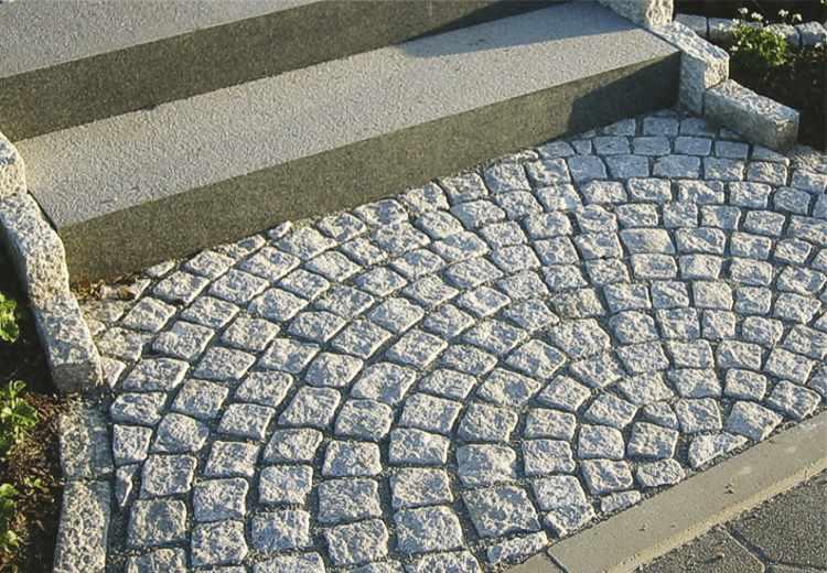 Pflastersteine Kopfsteinpflaster Granitpflaster Naturstein Pflaster - Granit gartenplatten preise