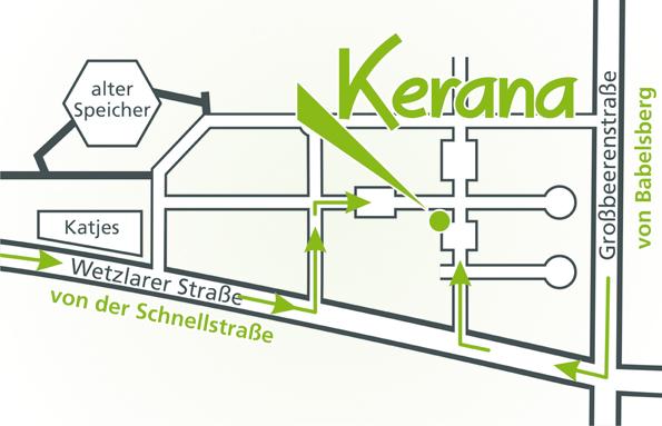 Anfahrt Ausstellung Kerana in Babelsberg