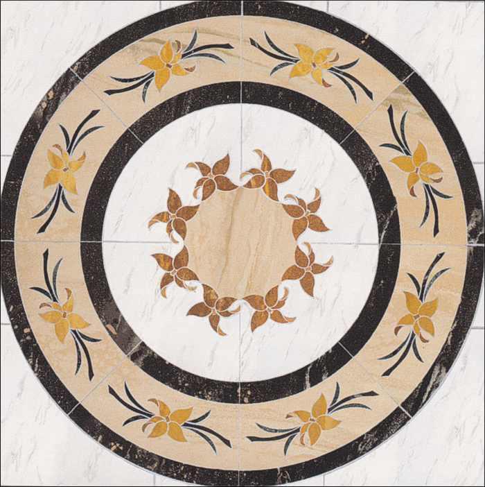 Naturstein Marmor Fliesen Naturstein Rosette, Rosonen, Rosone Fliesenrosette Berlin, Potsdam, Brandenburg
