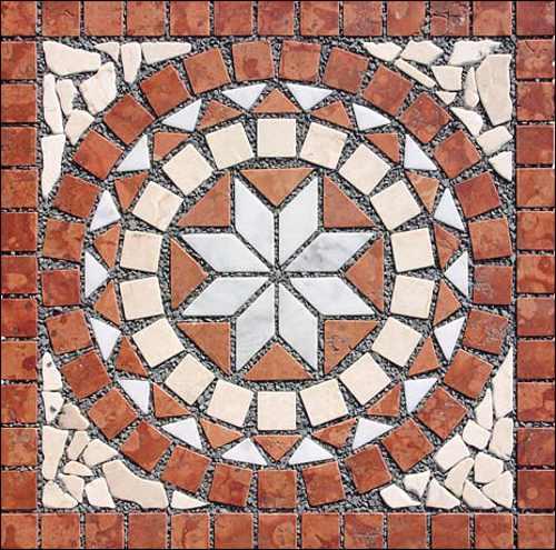 Naturstein Marmor Fliesen Naturstein Rosette, Rosonen, Rosone Fliesenrosette Antikmarmor Berlin, Potsdam, Brandenburg