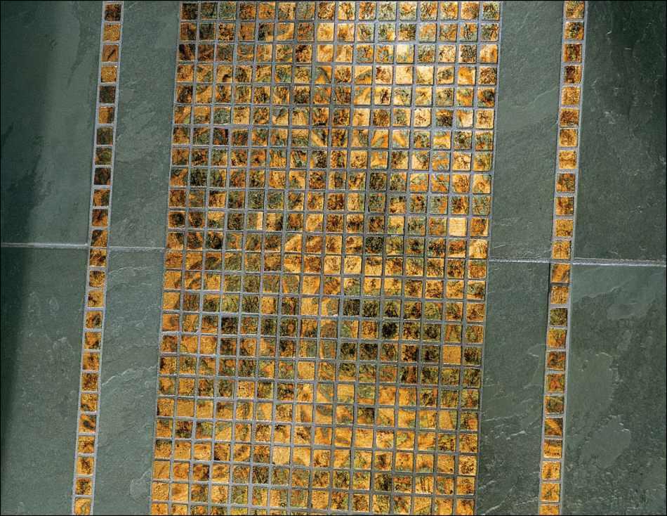 Goldfliesen Goldmosaik Fliesen Vergoldet Gold Fliesen Mosaik - Fliesen für mosaik kaufen