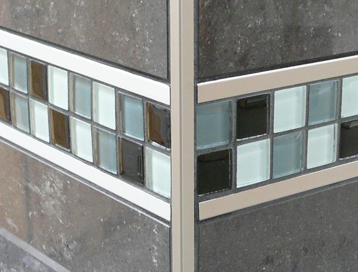 Fliesenprofil Fliesen Dekoration mit Dekoprofil Designline Schlüterschiene Schlüter Berlin, Potsdam, Brandenburg