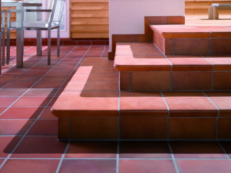 Spaltplatten Spaltfliesen Fliesen Spaltplatten Stranggezogene - Florentiner fliesen rot