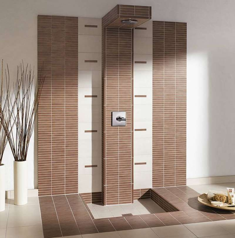 duschen fliesen mosaik streifen raum und m beldesign. Black Bedroom Furniture Sets. Home Design Ideas