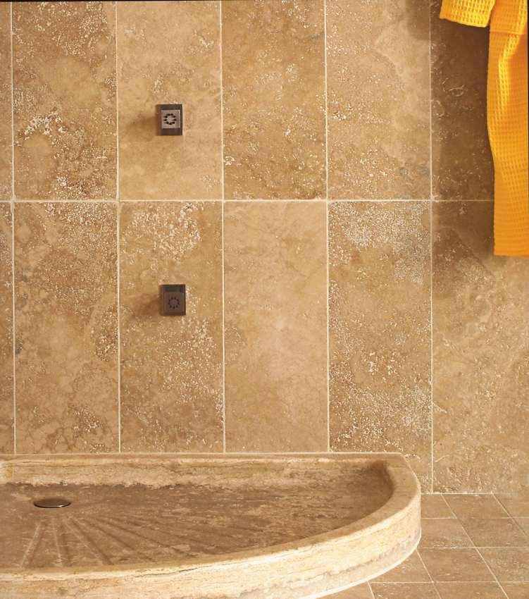 dusche aus stein raum und m beldesign inspiration. Black Bedroom Furniture Sets. Home Design Ideas