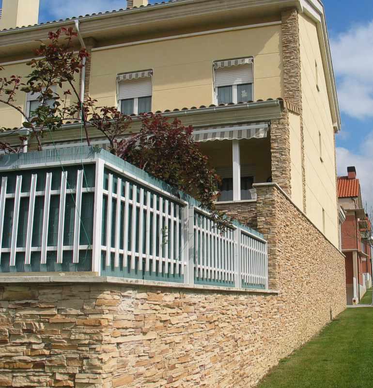 Stein Verblender Ecopiedra Laja, Steinriemchen,     Kunststein Riemchen Steinfassade Wand Berlin, Potsdam, Brandenburg