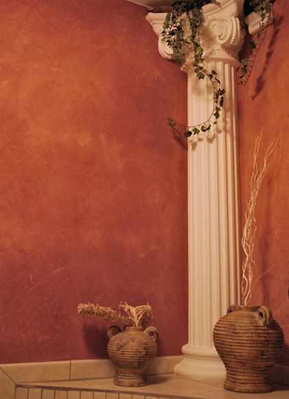 Wandspachtel, Wandbeschichtung Spachteltechnik Stucco