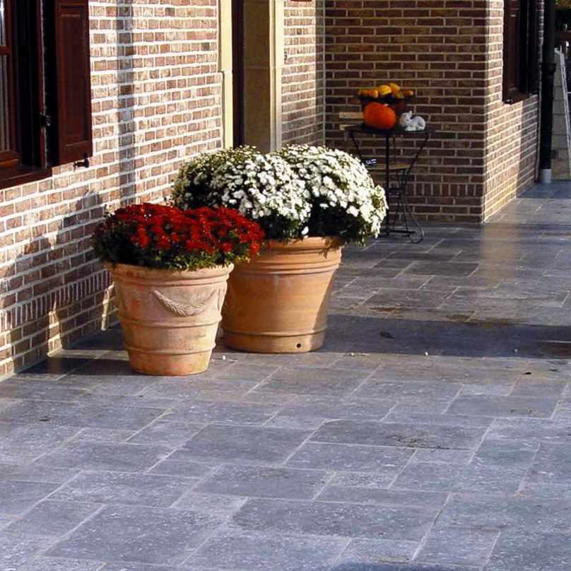 Terrassenplatten Steinplatten Gehwegplatten Steinfliesen - Rote gehwegplatten 50x50