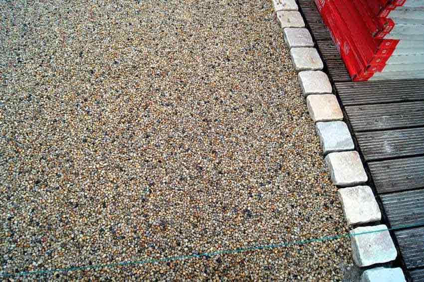 drainageverlegung terrassenplatten eska drain drainestrich epoxidharz berlin potsdam und. Black Bedroom Furniture Sets. Home Design Ideas