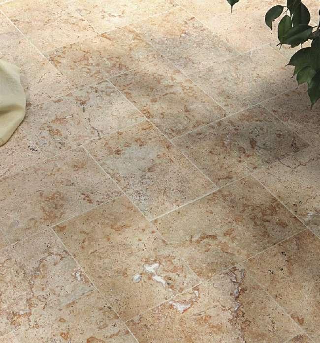 Travertin Platten Fliesen Marmor Bodenbelag Travertinplatten