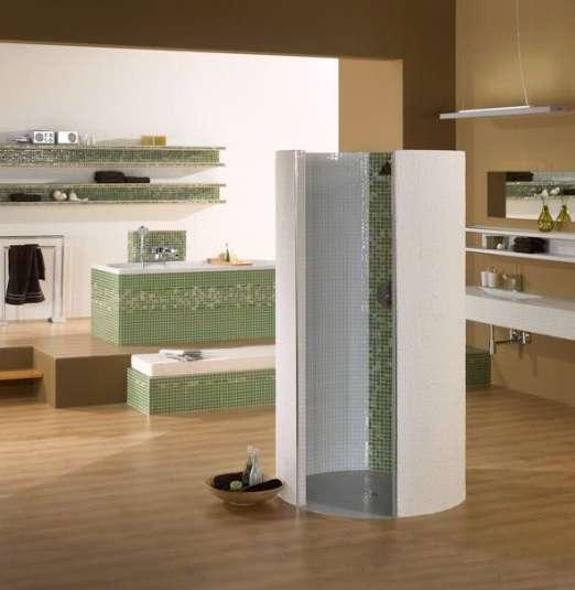 runddusche bauen raum und m beldesign inspiration. Black Bedroom Furniture Sets. Home Design Ideas
