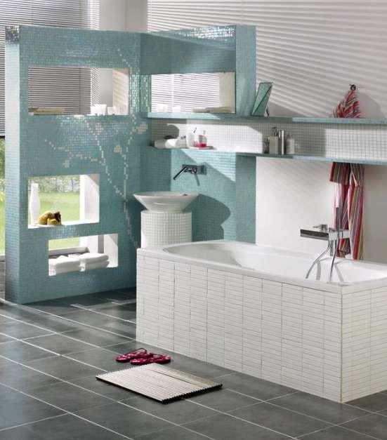 dusche trennw nde verschiedene design. Black Bedroom Furniture Sets. Home Design Ideas