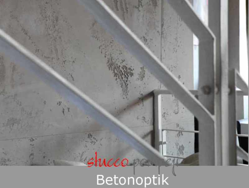 Spachtel betonoptik