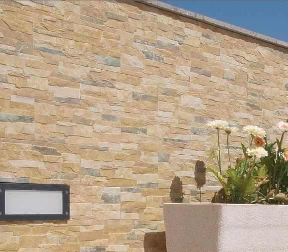 Fliesen verblender keramische wandverkleidung riemchen for Wandverblender naturstein