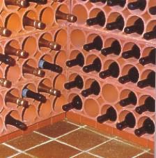 Weinlagerstein, Weinregal Weinlagersteine, Weinziegel, Flaschenstein für Weinkeller Berlin, Potsdam Brandenburg