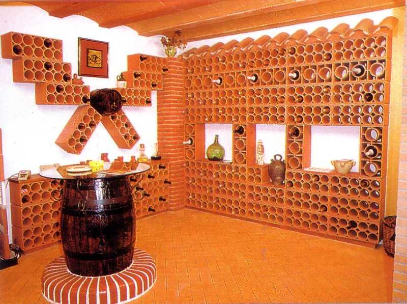 weinkeller weinlagersteine weinziegel flaschenregal stein cotto weinregale berlin potsdam. Black Bedroom Furniture Sets. Home Design Ideas