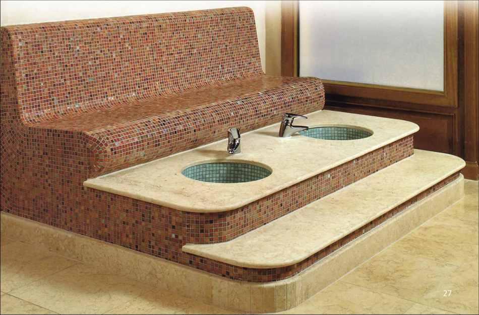 wellness fliesen naturstein dampfbad badezimmer fliese. Black Bedroom Furniture Sets. Home Design Ideas