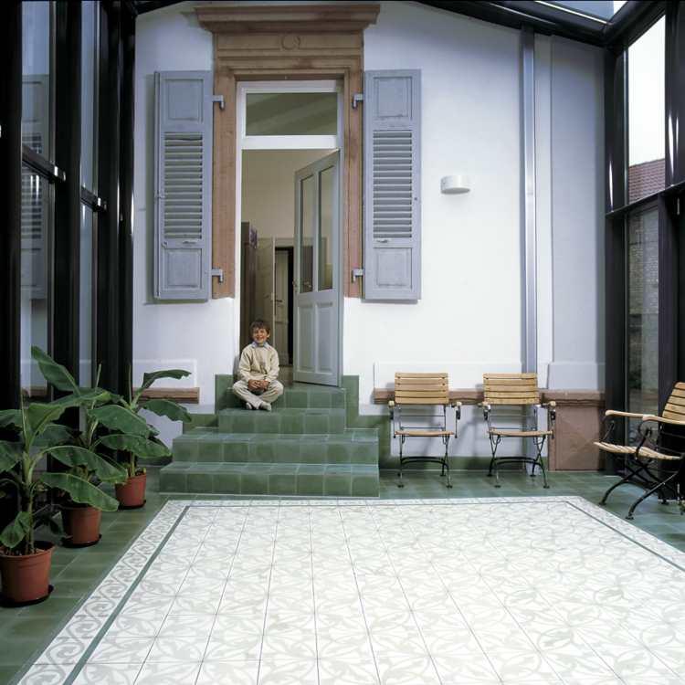 Via Zementfliesen Zementfliese alte alte Zement Fliesen Zementmosaikplatten kaufen, Preis, Händler Berlin, Potsdam, Brandenburg