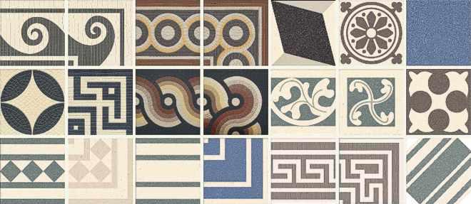 Brandneu alte Fliesen, alte Maße, historische Farben, Formate, Formen  RE55