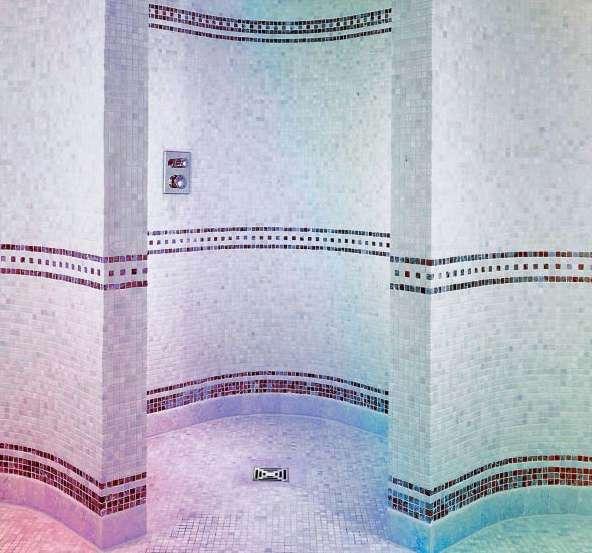 bodengeleiche ebenerdige duschtasse duschtasse mit gerundeten w nden. Black Bedroom Furniture Sets. Home Design Ideas