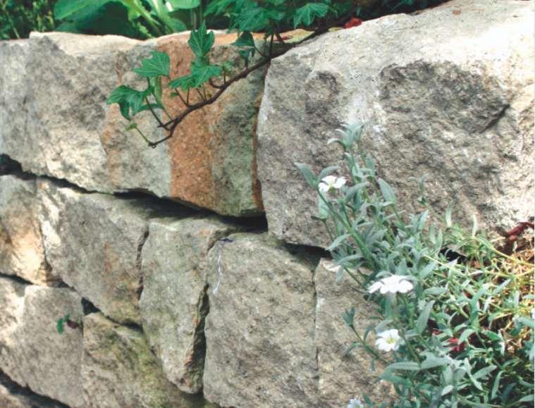 Naturstein, Natursteinmauer, Trockenmauer, Mauersteine, Natursteinhandel Sandstein Berlin, Potsdam Brandenburg Autor Siegfried Nolting