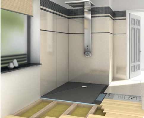 wedi fundo ligno unterbauelement dusche einlauf potsdam. Black Bedroom Furniture Sets. Home Design Ideas