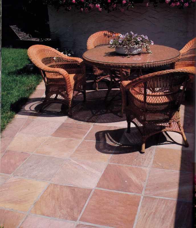 Terrassenplatten Steinplatten Gehwegplatten Steinfliesen - Terrassensteine 40x40