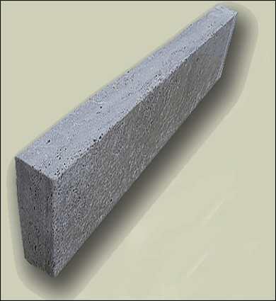 Kantensteine grau